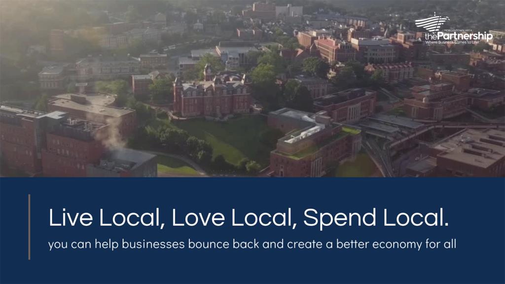 Morgantown Local Business Love Video Tile